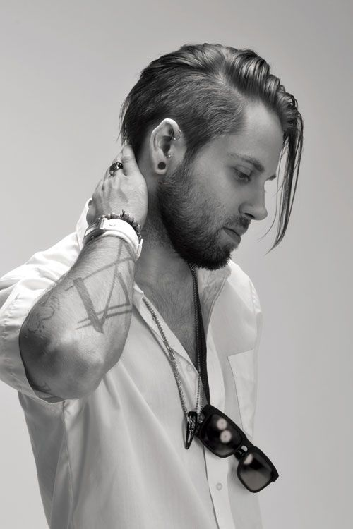 25 Best Ideas About Long Undercut Men On Pinterest