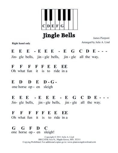 christmas sheet music using letters - Google Search