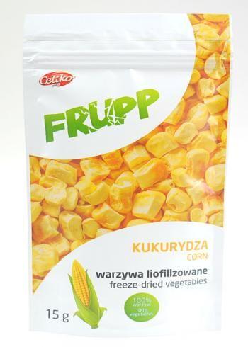 Kukurydza liofilizowana Frupp (15 g) - Celiko | Sklep AleDobre.pl