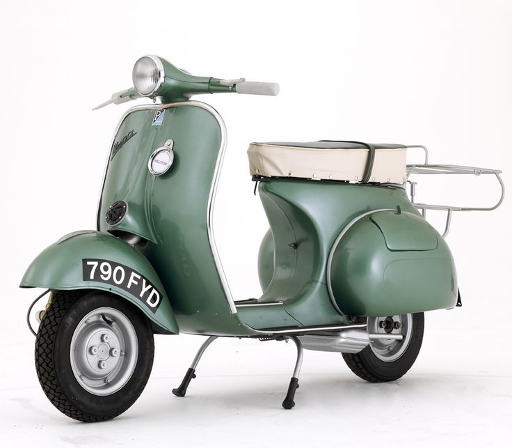 1959 Douglas Vespa: Manufactured under license the Douglas Vespa (the Italian translation for 'wasp') was practically identical in design to the Piaggio product.
