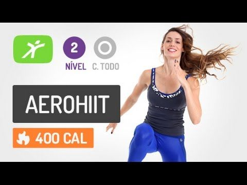 Barriga Sarada Já! Aula de AeroHiit para os Abdominais #1 - YouTube