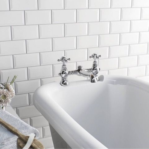 The Bath Co. Coniston bath mixer tap | VictoriaPlum.com