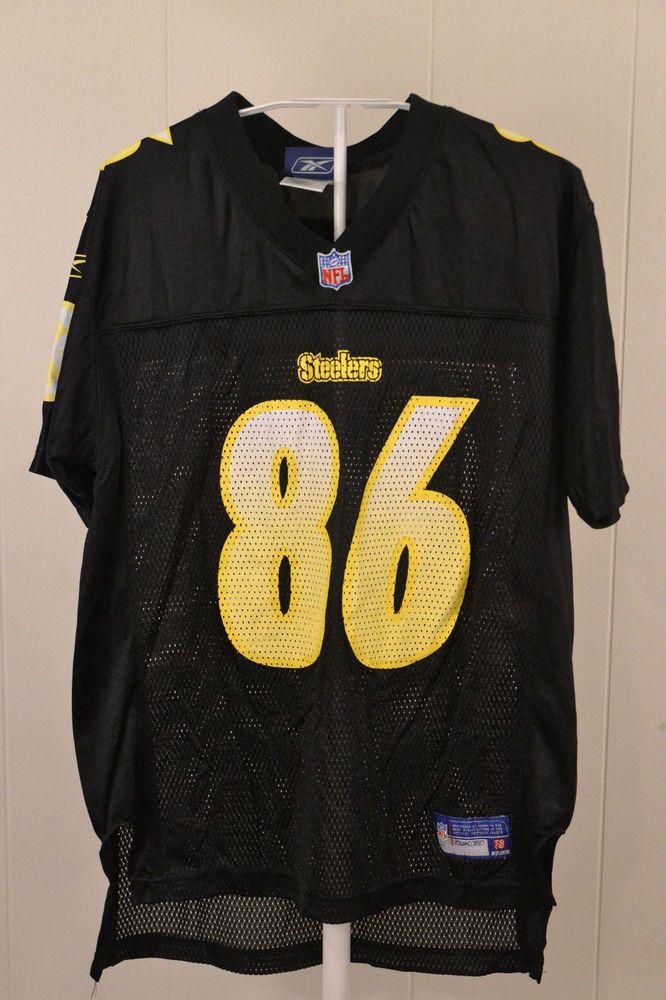 85824aae2 ... Nike NFL Jersey Mens Reebok Pittsburgh Steelers 86 Hines Ward NFL Jersey  Kids Large 14 Black Reebok ...