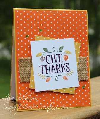 Snowy Moose Creations: Give Thanks