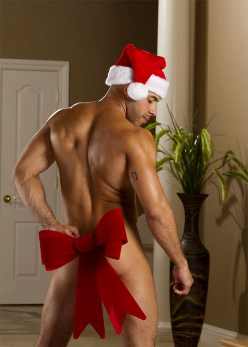 christmas gay men porn