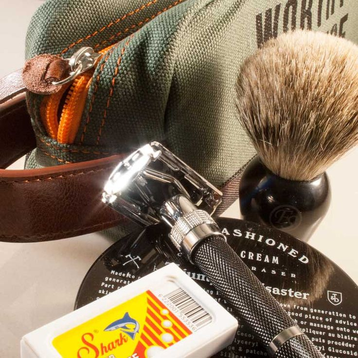 The Essential Classic Shave Tool Kit from Worthy and Spruce