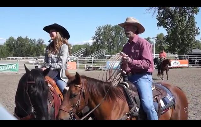 Amber Marshall and Shawn Johnson. Heartland
