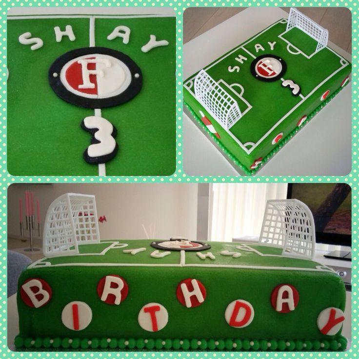Feyenoord cake (Dutch soccer club)