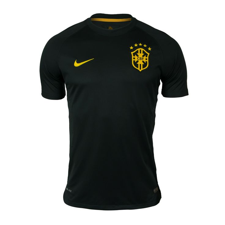 Camisa Masculina Manga Curta CBF 3rd Jogador - Nike no Nike.com.br