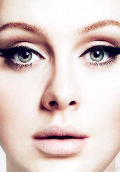 Adele - bridal make up inspiration