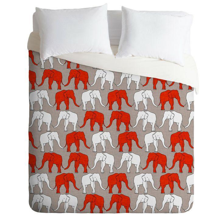 ELEPHANT WALK Duvet Cover By Holli Zollinger $ 189.00