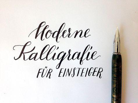 Wenn ihr moderne Kalligrafie lernen wollt und nicht wisst, wie ihr anfangen sollt, seid ihr hier am richtigen Ort. Ich werde euch durch alle nötigen Schritte begleiten: Papier- und Federauswahl, Ei…