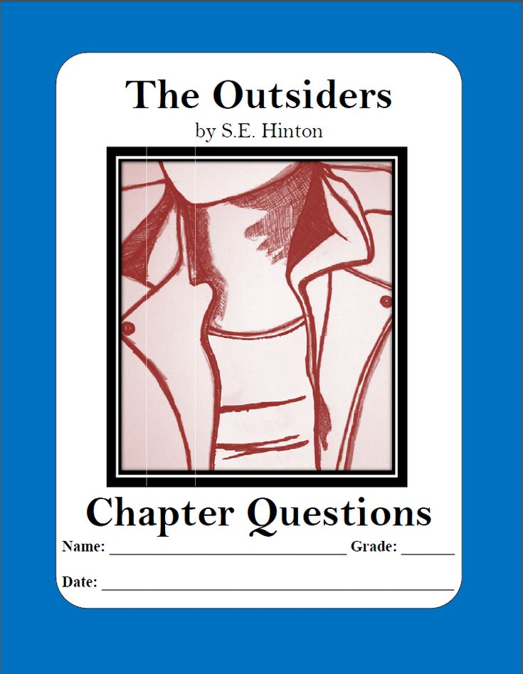 the outsiders by s e hinton chapter questions with answer