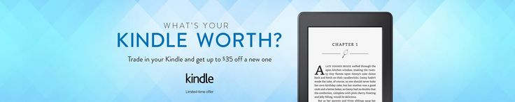 Amazon: $20 Extra Credit for Your Kindle Trade-In #LavaHot http://www.lavahotdeals.com/us/cheap/amazon-20-extra-credit-kindle-trade/178922?utm_source=pinterest&utm_medium=rss&utm_campaign=at_lavahotdealsus