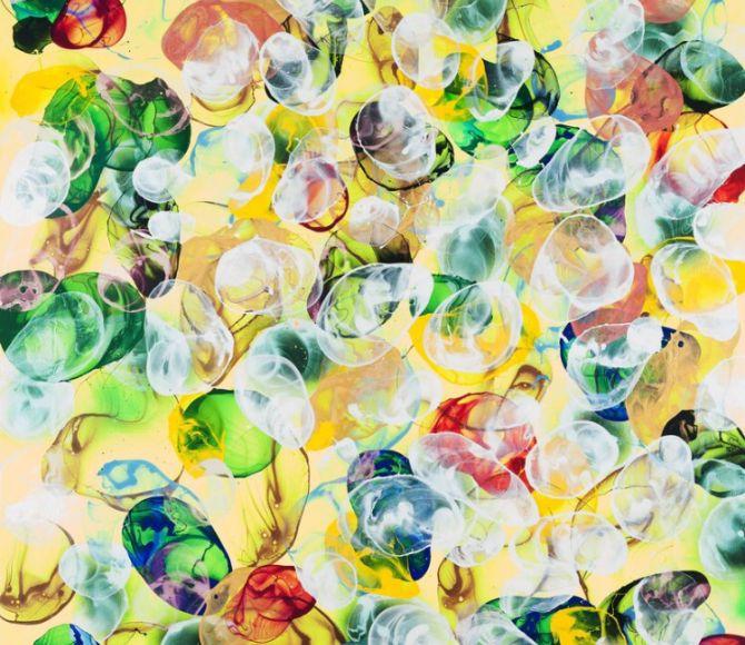 Jiří Georg Dokoupil's Bubbles