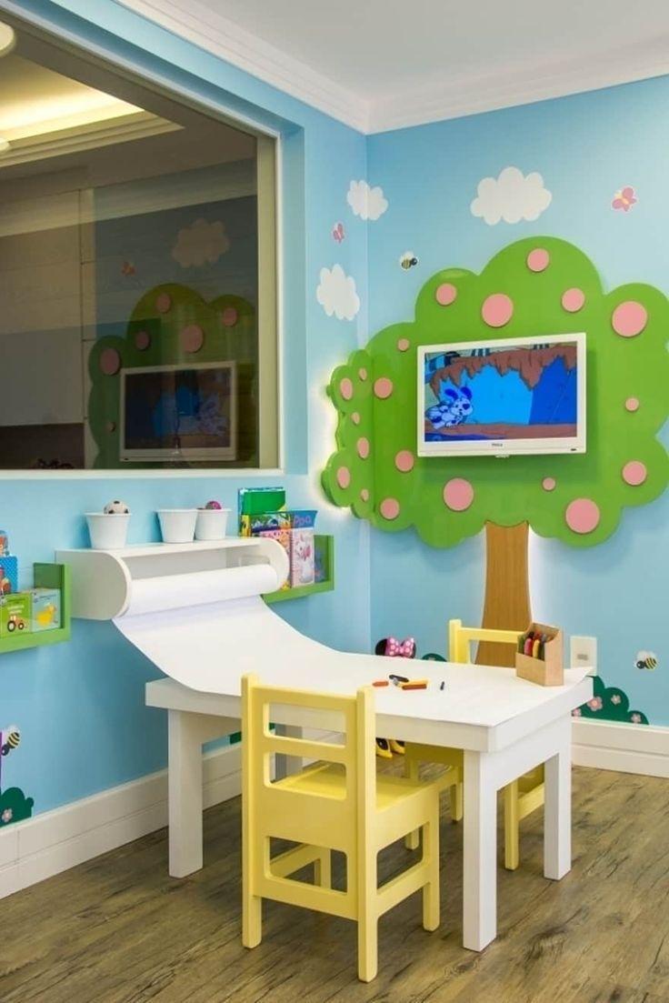 Brinquedoteca dos Sonhos – Wohnzimmer für Kinder von Carolina Burin Arquitectura Ltda – Emilie Roussin