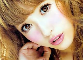 Azjatycki Cukier: Makijaż Gyaru to nie makijaż a'la Drag Queen!