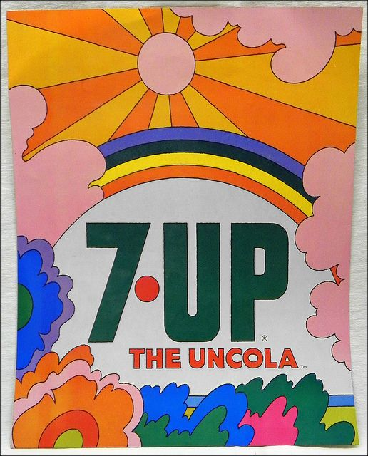 John Alcorn Uncola Land (c1970) by MewDeep, via Flickr. Remembering the 70's.