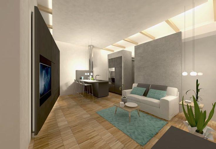 Monolocale nel centro storico | Old town studio apartment, Sassari, 2015 - domECO