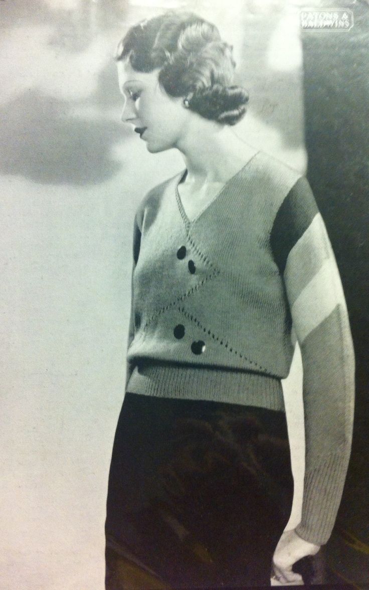 Patons Knitting Pattern Archive : 513 best images about Vintage knitting patterns - womens jumpers. on Pin...