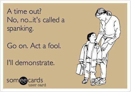I do not negotiate with children.