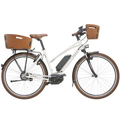 Panier de vélo avant sur cintre Radkiste 2 en bois KlickFix
