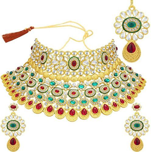 Red & Green Stone Bollywood Inspired Gold Plated Traditio... https://www.amazon.com/dp/B06WRWSFDZ/ref=cm_sw_r_pi_dp_x_uGxgzbTKR1DDT