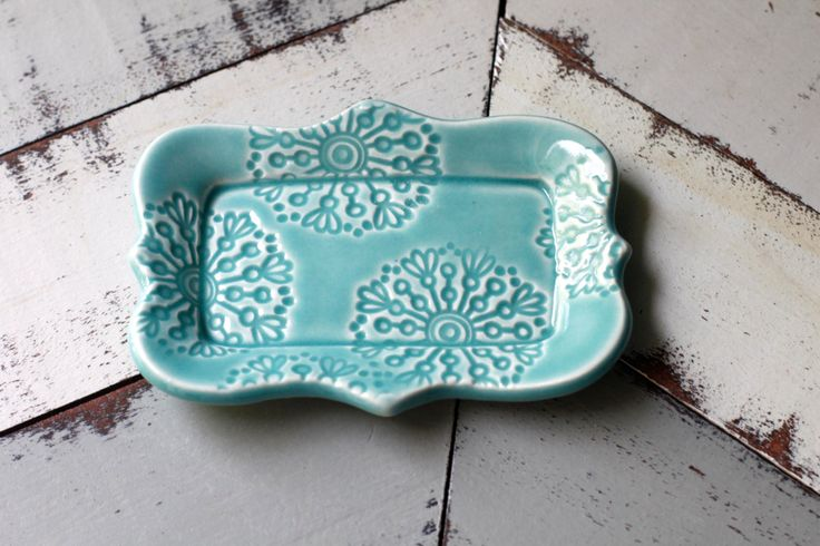 In Stock Small Porcelain Butter Dish, 1/2 A Stick Size