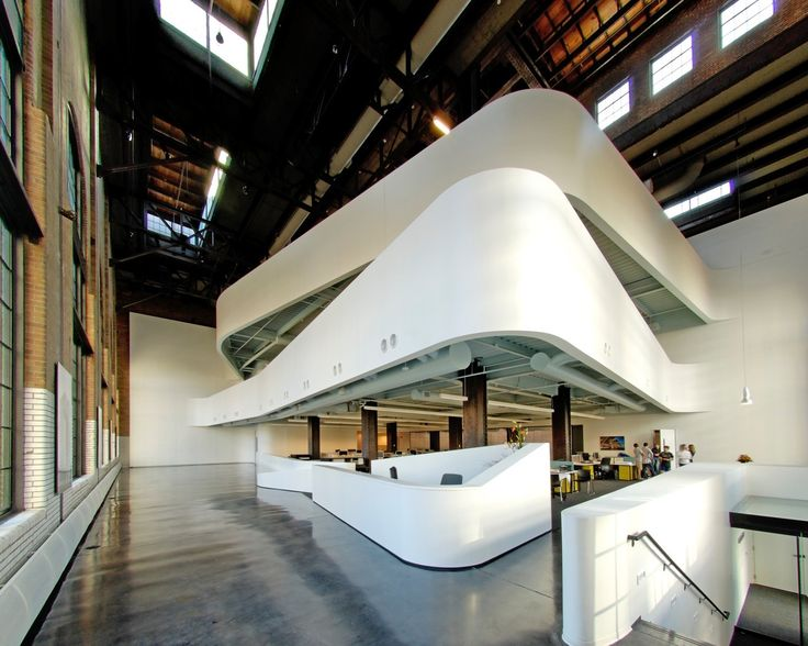 Can We Make New Office Buildings As Cool As Warehouses?
