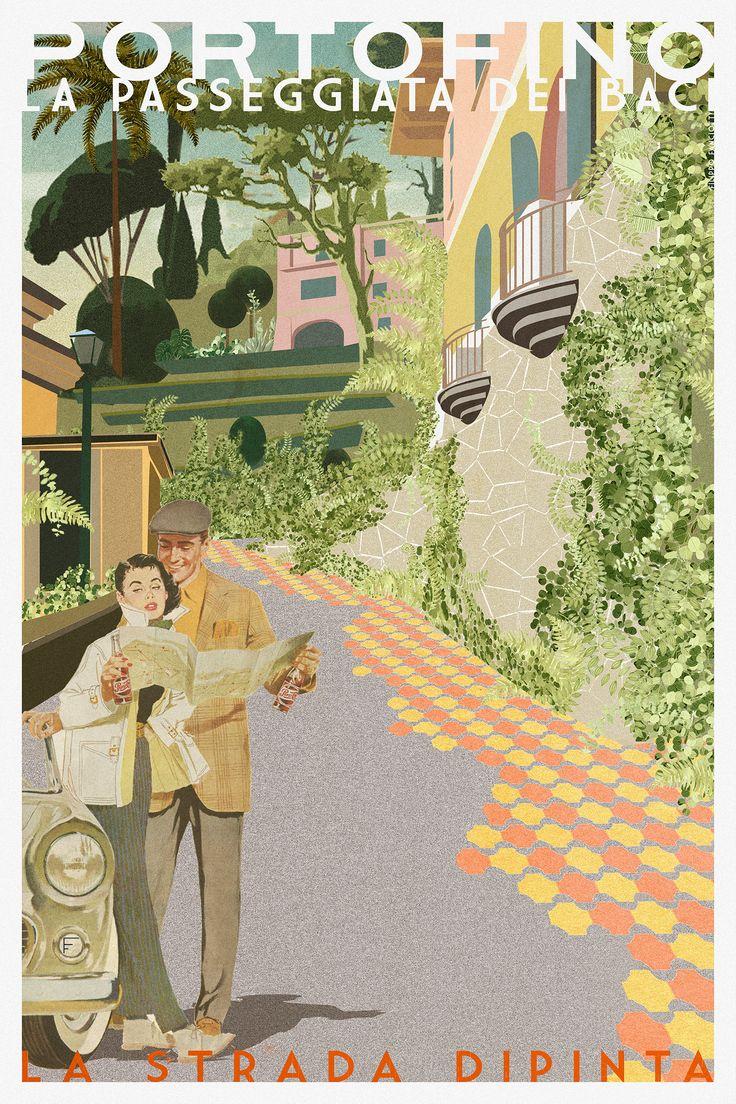 filippo fanciotti  la strada dipinta  la passeggiata dei baci filippofanciotti.com