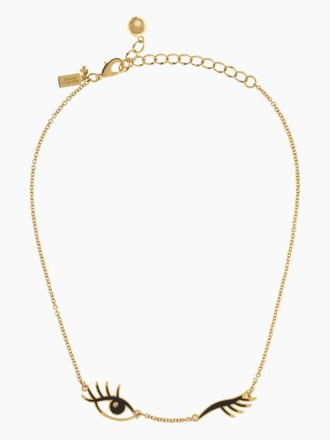 Kate Spade – Kiss and Make Up Wink Necklace