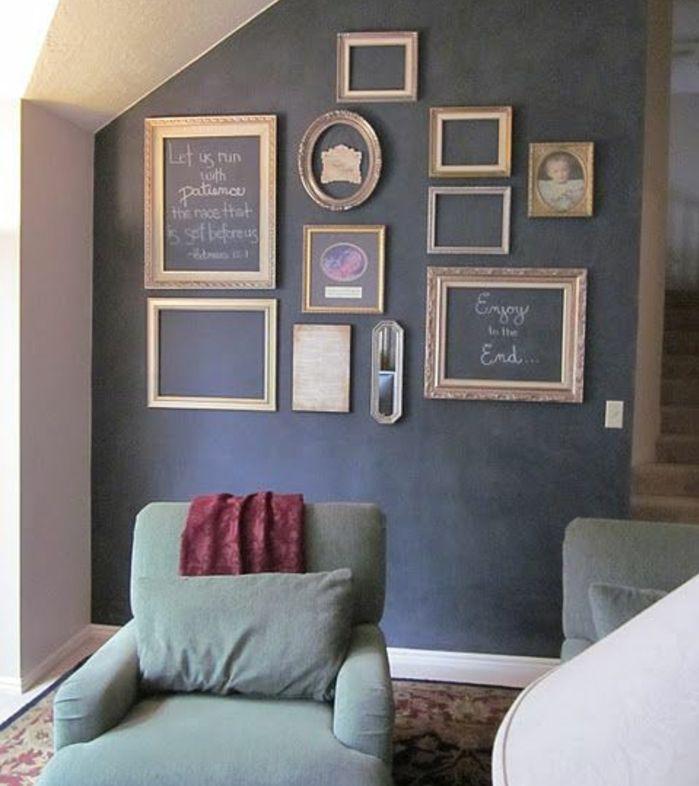 Les 25 meilleures id es concernant d cor cadres vides sur pinterest cadres vides cadres de for Idee pour le mur du salon toulon