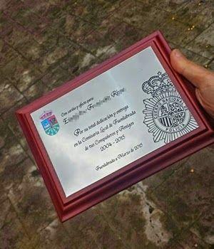 Montero Artesania: Metopas y placas conmemorativas
