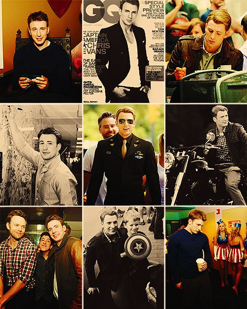 Chris Evans, again. Yes, I saw Avengers ^^