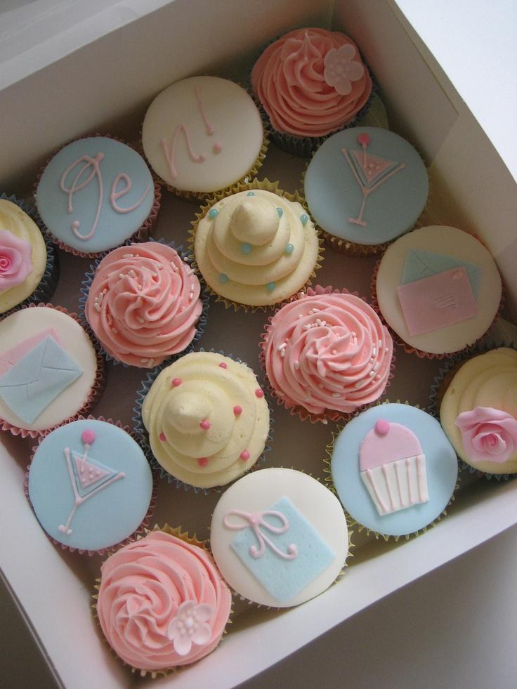 Birthday cocktail cupcakes