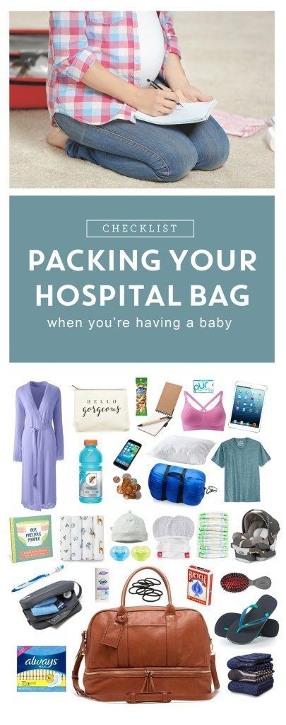 The end of your pregnancy is approaching! Trying to figure out what to pack in that hospital bag? Here's a list of stuff other women have found really helpful when they gave birth in a hospital.
