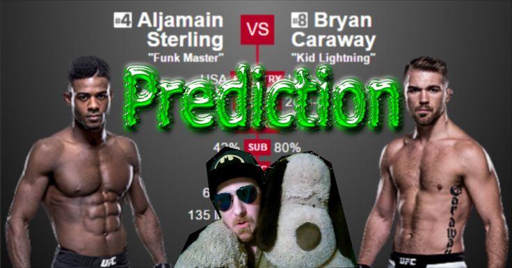 Prediction Aljamain Sterling vs Bryan Caraway UFC Fight Night 88 Las Vegas