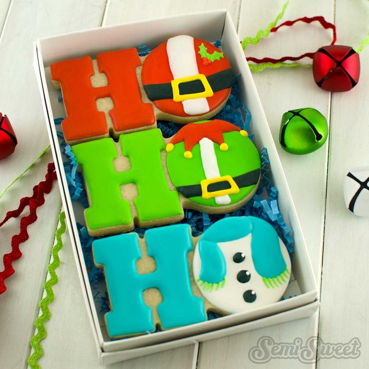 Christmas Cookie Box Sets & 1346 best COOKIES images on Pinterest | Birthday cakes Birthday ...