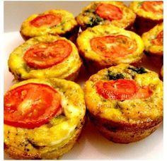 Ægge kage muffins