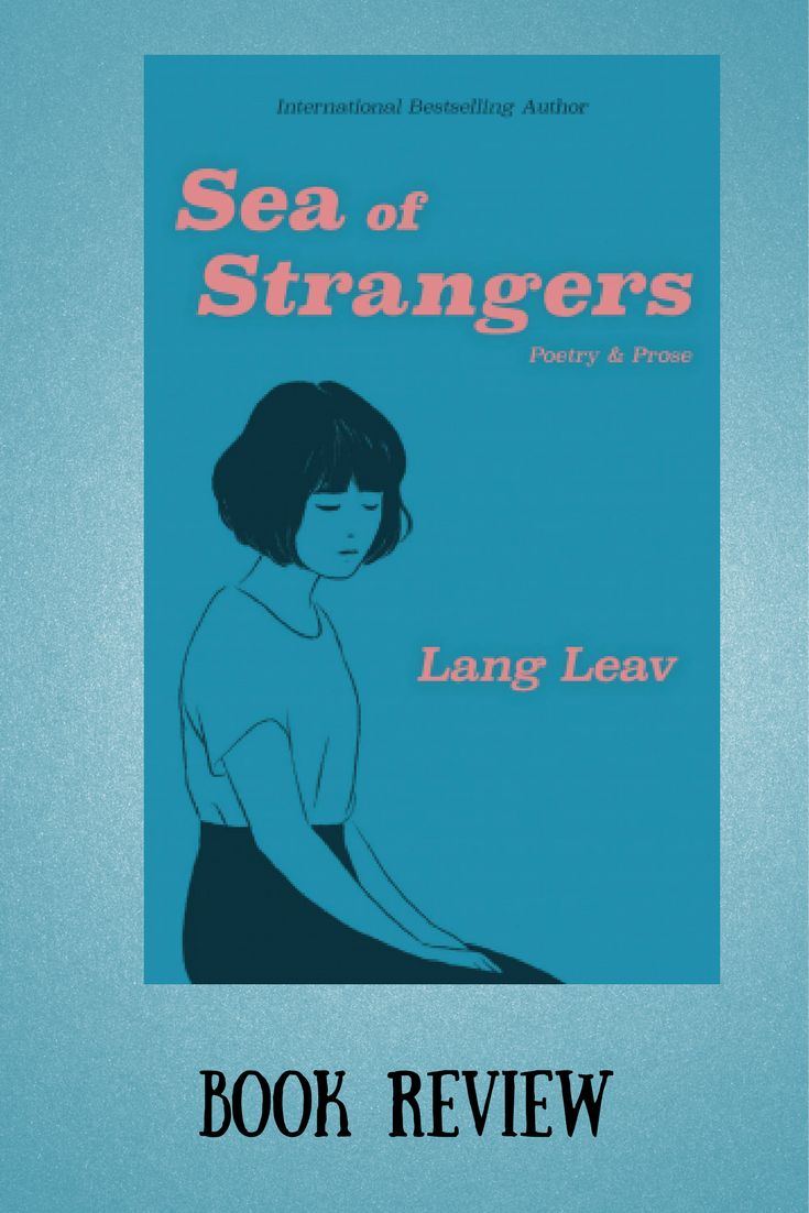 Sea of Strangers by Lang Leav book review  #langleav #bookreview