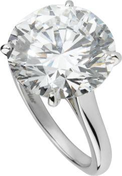 ハイジュエリー リング プラチナ、ダイヤモンド
