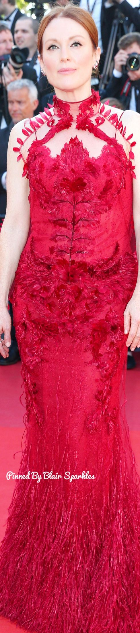Juliane Moore At Cannes 2017 ♕♚εїз | BLAIR SPARKLES |