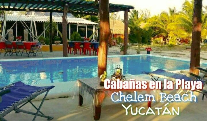 Cabañas en Chelem Puerto, Yucatán  INF aldeamaya@hotmail.com Telf 9992163155 OFERTAS http://aldeasmaya.com/alojamientos-rurales  #Chelem #Yucatan #AldeaMaya #Cabañas