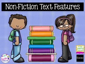 Text Features: Text Features PowerPoint | Nonfiction | Non-Fiction Text Features help the reader make sense of what they are reading... otherwise known as Comprehension. Readers of all ages (but especially struggling readers), tend to skip over the text features provided in the text.
