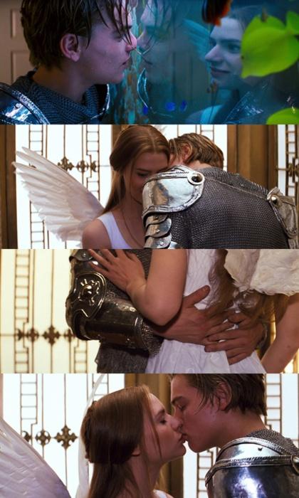 I love kissing you - Romeo & Juliet - Leonardo Dicaprio & Claire Danes