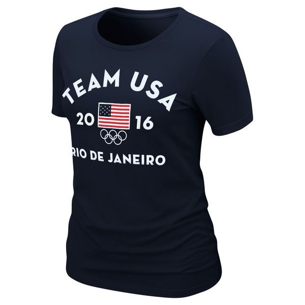 Team USA Women's Very Official Rio 2016 T-Shirt – Navy Blue - $16.99