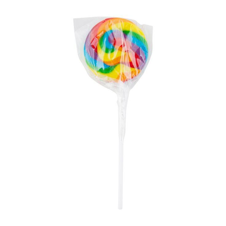 Rainbow Mini Swirl Lollipops 24 pack (288g)