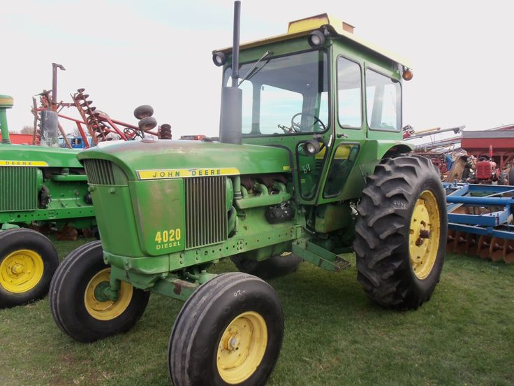 1969 95hp John Deere 4020 With Factory Cab Serial Number