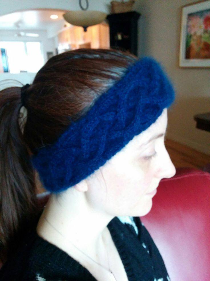 A personal favorite from my Etsy shop https://www.etsy.com/ca/listing/261625934/qiviut-cabled-winter-headband