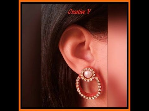 How to Make Quilling Stud Earrings - YouTube